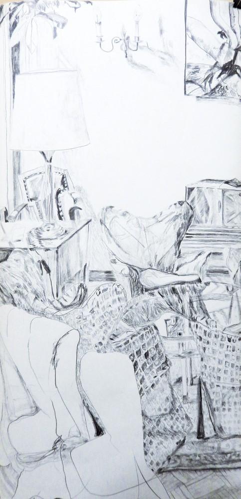 Zeichnung 4 Hotel Bogota